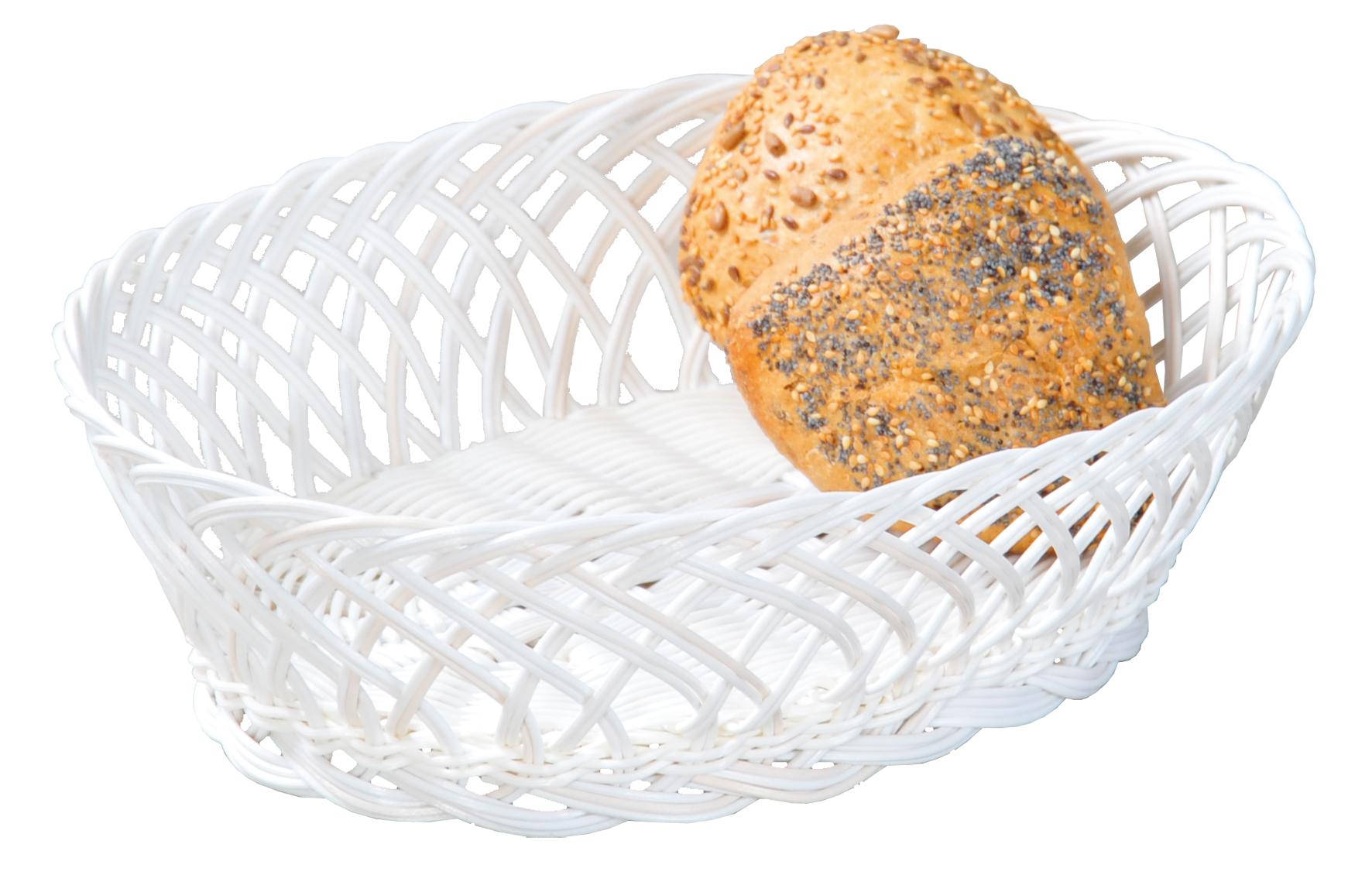 Košík na pečivo, plast, 24 x 20 x 6 cm, Kesper