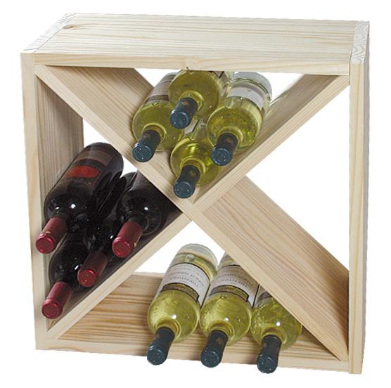 Stojan na víno, borovice, Kesper
