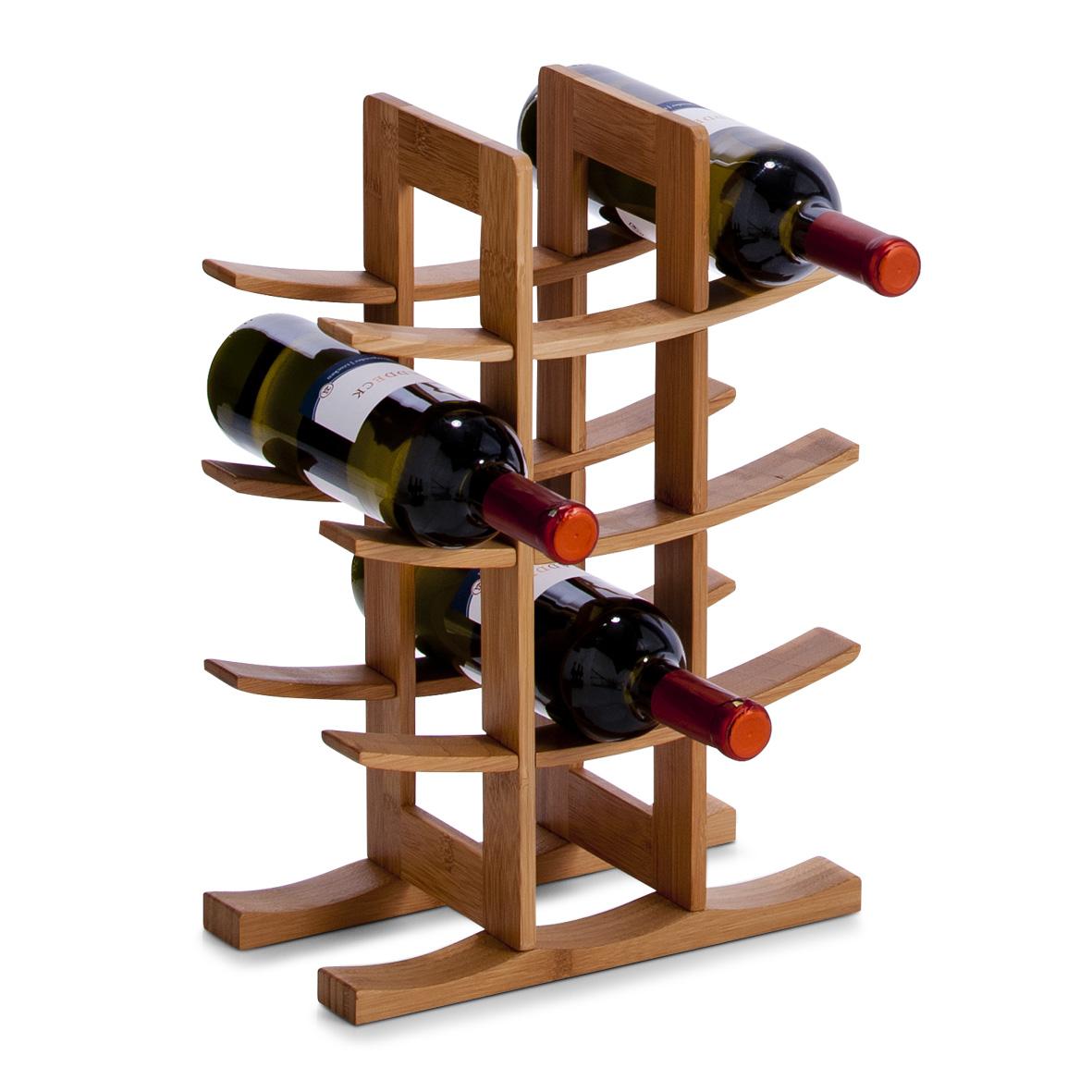 Zeller, Stojan na víno, bambus, 13580