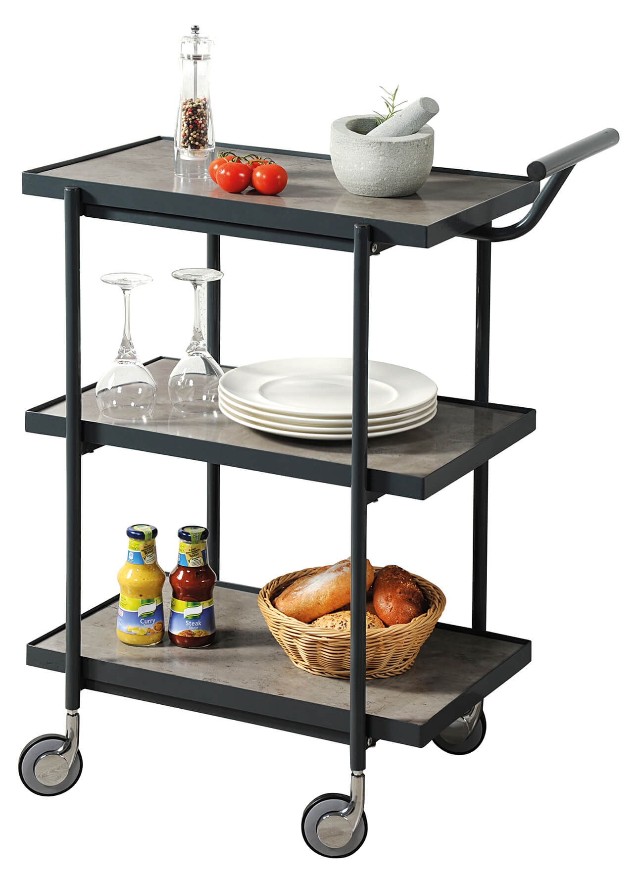 Kesper servírovací stolek metall 25751