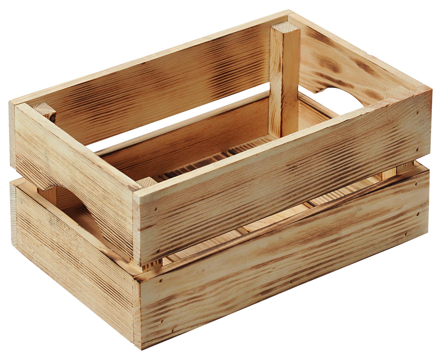 Kesper dřevěná bedýnka 69404