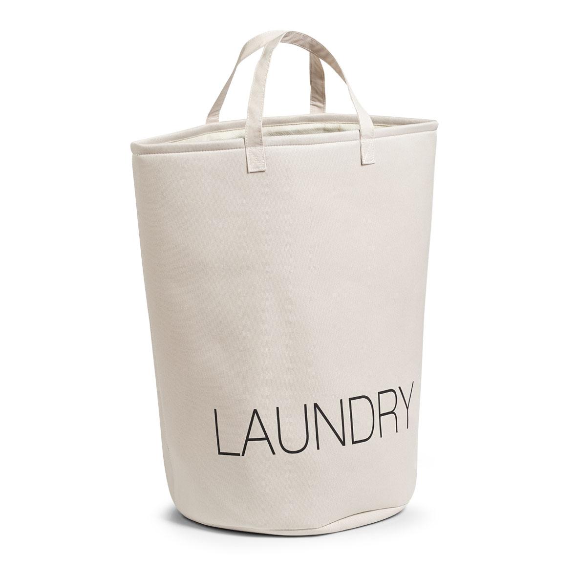 Zeller koš na prádlo látkový béžový