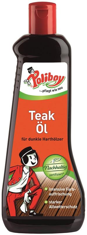 Poliboy Teakový olej tmavý 500 ml 024
