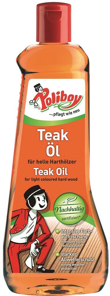Poliboy Teakový olej světlý 500 ml 025