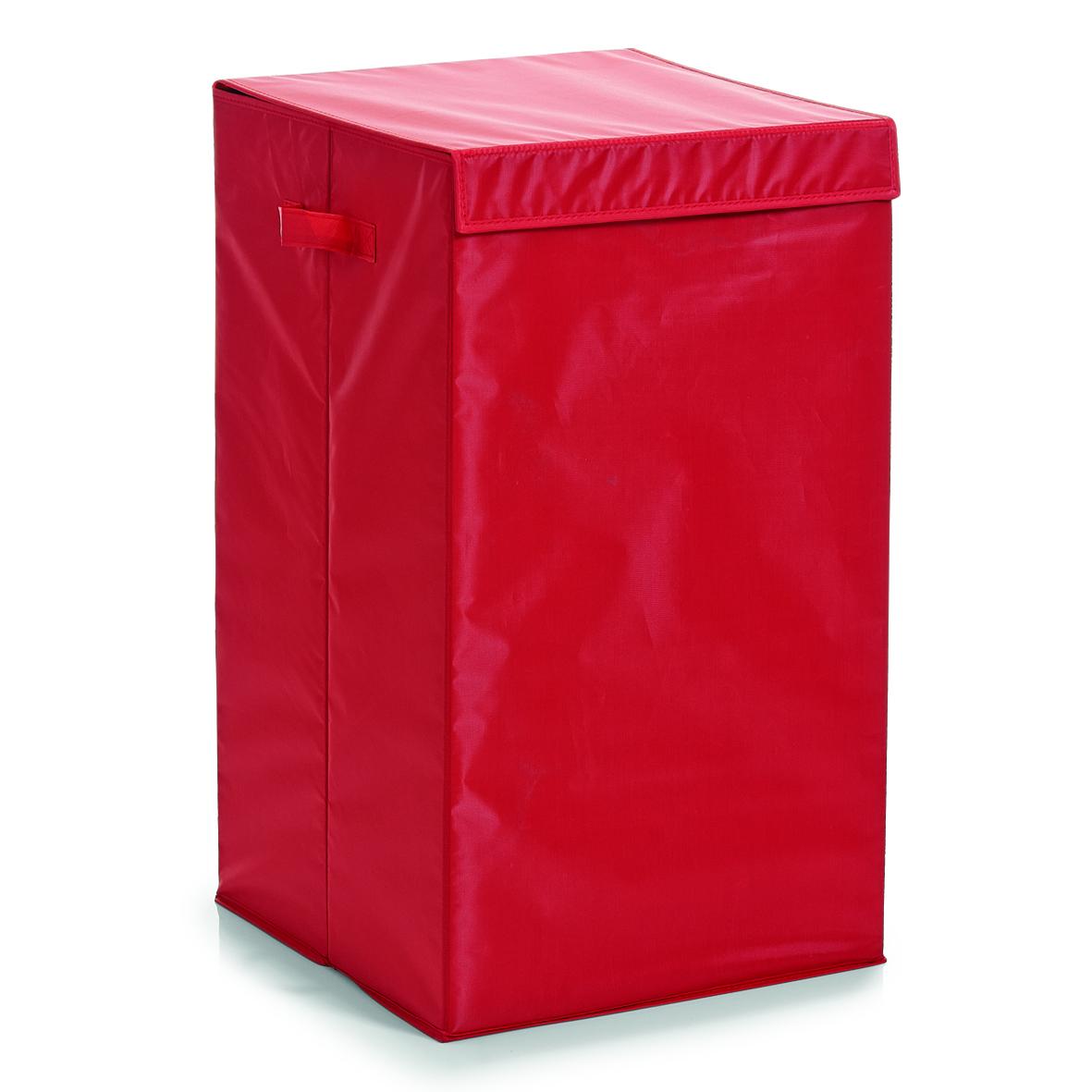Zeller, Koš na prádlo, červený, 13262